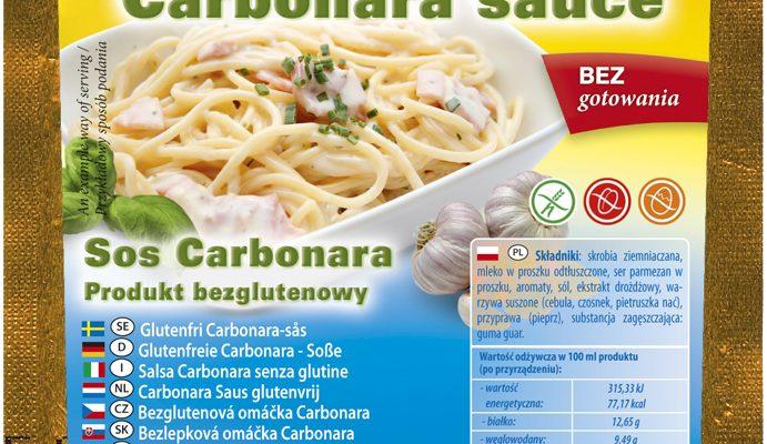 Bezglutenowy sos Carbonara do spaghetti