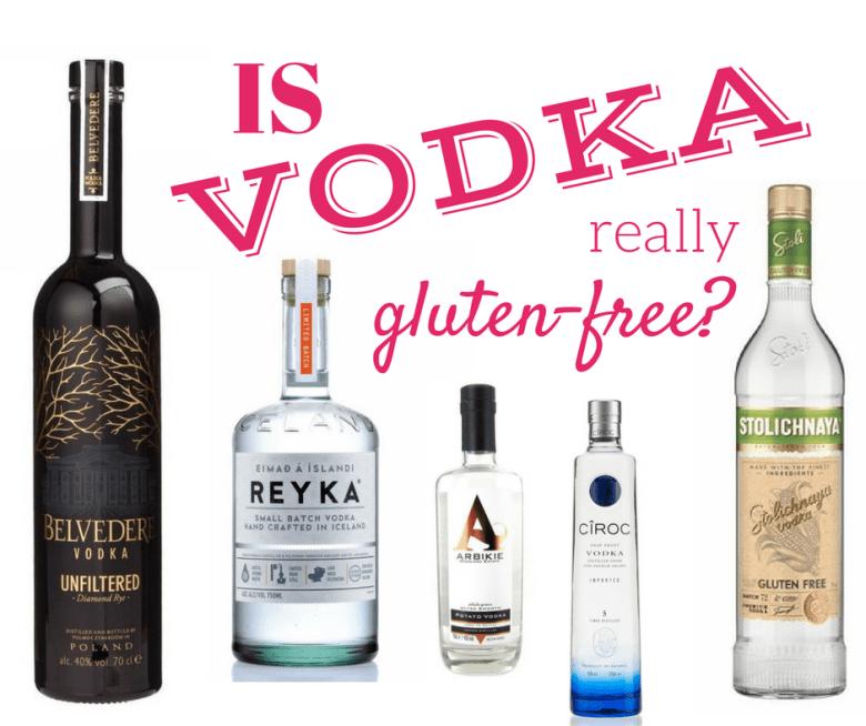 Alkohole bezglutenowe – testujemy wódki