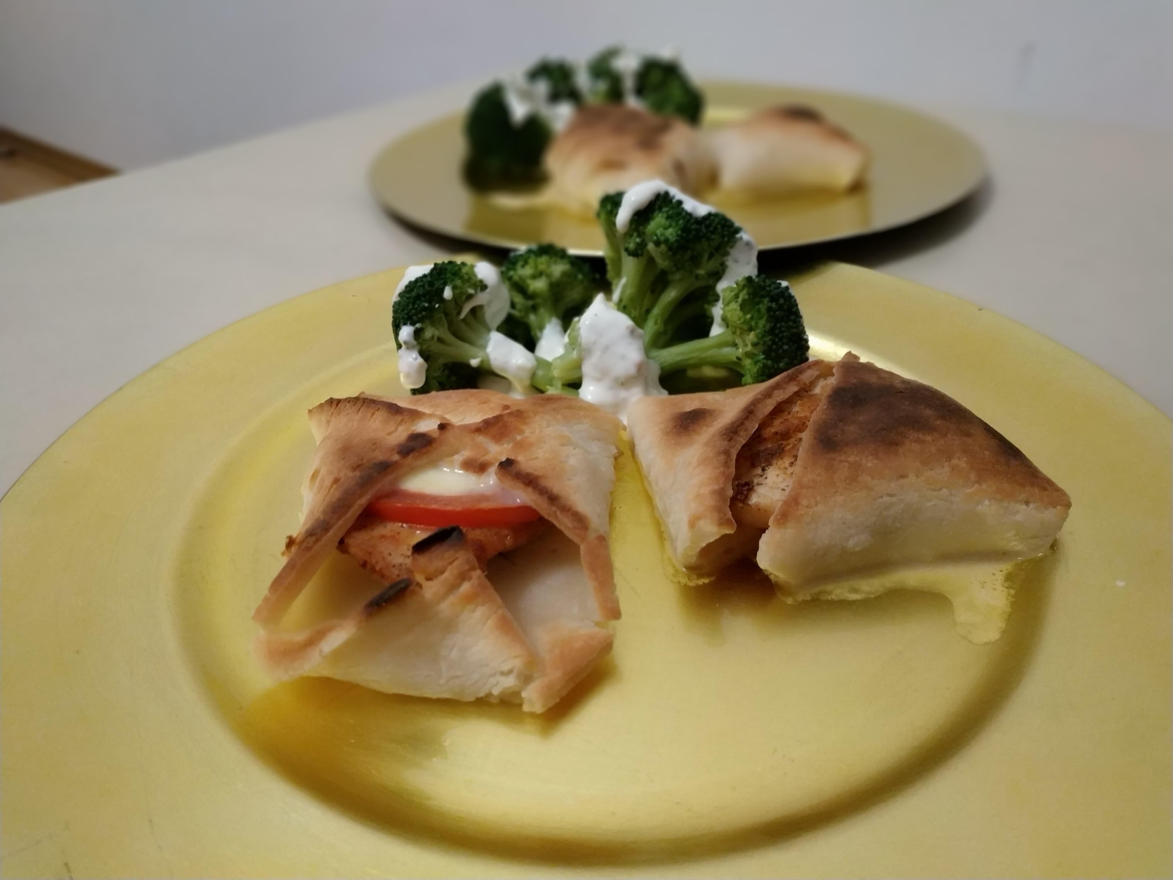 Kurczak w cieście francuskim gluten free